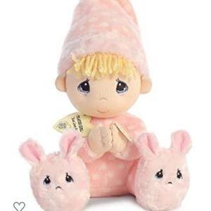 Precious Moments Pink Prayer Doll